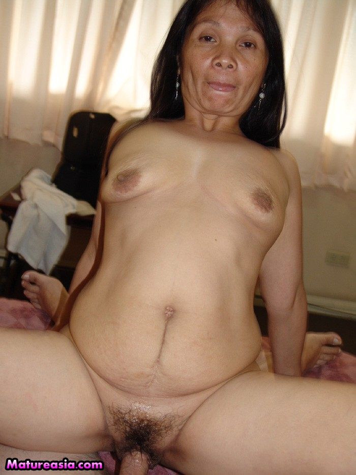 Mature older asian women